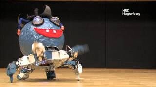 Download Dancing Hexapod Robot Competition Video
