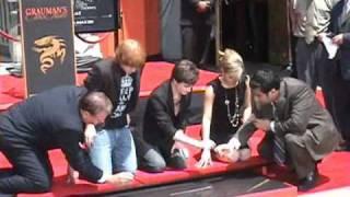 Download Dan Radcliffe, Emma Watson, & Rupert Grint Hand, Foot, and Wand Ceremony Video