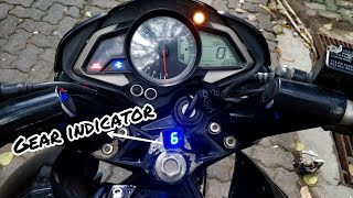 Download Universal Gear Indicator for all motorcycles | Pulsar NS 200 Video