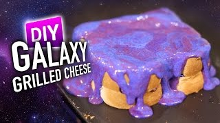 Download DIY GALAXY Grilled Cheese *MIRROR CHEESE GLAZE* Video