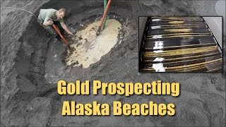 Download Alaska Beach Prospecting - LOTS of FINE Gold Video