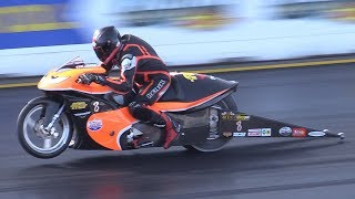 Download DRAG Bikes & Motorcycles at NitrOlympX 2017 - Top Fuel, Turbo Hayabusa, Pro Stock & More! Video
