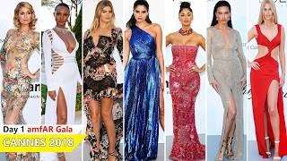 Download Cannes Film Festival 2018 [ amfAR Gala ] Red Carpet | Full Video | Celebrity Dresses Video
