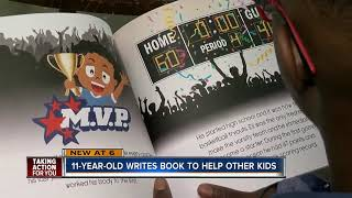 Download 11-year-old Tampa student hoping his published book will inspire kids to follow their dreams Video