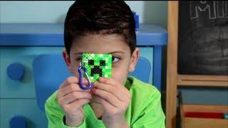 Download Minecraft Creeper Perler Bead Keychain Tutorial - Abe's World Video