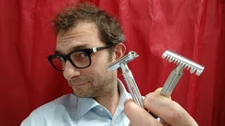 Download Rasoio di sicurezza - Quando passare all'open comb - Wet shaving tips Video