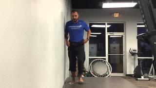 Download Standing Glute Medius Exercise perfect to prime Runners - Wall Push Video