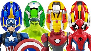 Download Avengers, Carbot Kung Go~! Iron Man, Hulk, Spider-Man, Thor, Captain America, Thanos, Incredibles! Video