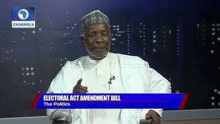 Download Electoral Amendment Bill: Galadima Says Buhari Govt Desperate, Keyamo Disagrees Pt.2 Video