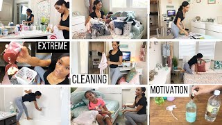 Download ACTUALLY DIRTY EXTREME CLEANING MOTIVATION // REALISTIC CLEANING ROUTINE // SAHM OF 3 Video
