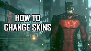 Download Batman Arkham Knight - How to Change Character & Vehicle Skins Video