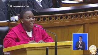 Download EFF MP Makes ″Ginger″ Lindiwe Zulu Very Angry. Funny Video