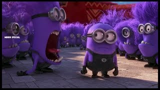 Download The Purple Minion Attacks scene - Despicable Me 2 ( 2013 ) Video