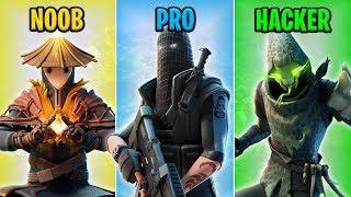 Download NOOB vs PRO vs HACKER - Fortnite Funny Moments #8 Video
