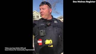 Download Video: A Republican campaign worker says he was racially profiled by West Des Moines police Video