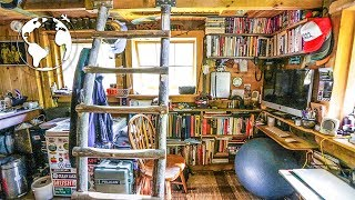 Download TEENAGER Builds OFF-GRID TINY HOUSE (80% Recycled Material) Video