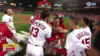Download NLCS Gm2: Wong walks off Cards with home run in 9th Video
