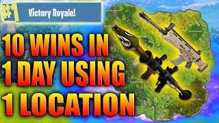 Download BEST Place To LAND For EASY WINS and LOOT (Fortnite How To Win Tips) Video