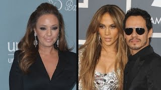 Download Leah Remini Defends Jennifer Lopez and Marc Anthony's Kiss at Latin GRAMMYs: 'It Was Innocent' Video