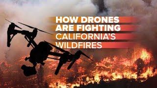 Download Drones vs. California's wildfires: How they're helping firefighters Video