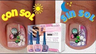 Download Decoración de Uñas Mariposa/Uñas que cambian de Color con el sol/esmaltes Masglo Video