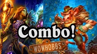 Download The Dirty Rat Rhonin Combo, and More! ~ Mean Streets of Gadgetzan ~ Hearthstone Video