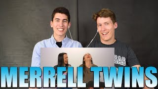 Download Reacting to SINGING while wearing NOISE CANCELLING HEADPHONES! - Merrell Twins Video