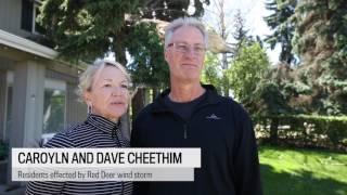 Download Prairie windstorm devastates Red Deer Video