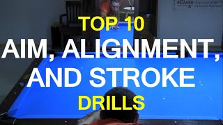 Download Top 10 Aim, Alignment, and STROKE DRILLS Video