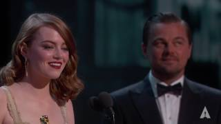 Download Emma Stone wins Best Actress Video