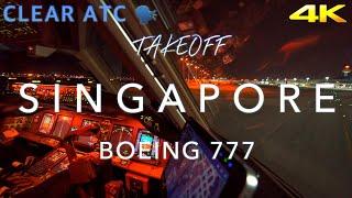 Download SINGAPORE | BOEING 777 TAKEOFF 4K Video