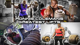 Download Ronnie Coleman Greatest Lifts EVER | Compilation Video