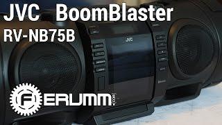 Download Обзор JVC BoomBlaster RV-NB 75 B. Полноценный видеообзор аудиосистемы JVC RV-NB75B от FERUMM Video