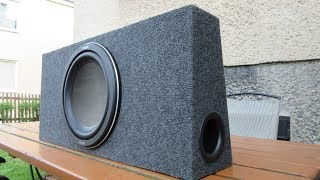 Download Making a Car Subwoofer Box Video