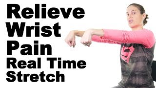 Download Relieve Wrist Pain with This Real Time Wrist Flexor & Extensor Stretch - Ask Doctor Jo Video