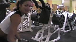 Download Intense Leg Training Routine with Fitness Model Diana Chaloux LaCerte Video