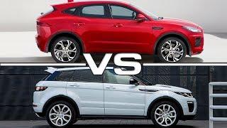 Download 2018 Jaguar E-Pace vs 2016 Range Rover Evoque Video