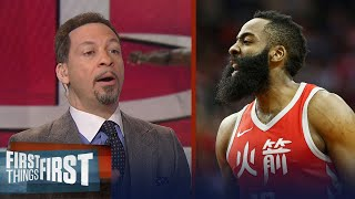 Download Chris Broussard on why Harden's Rockets won't dethrone the Warriors | FIRST THINGS FIRST Video