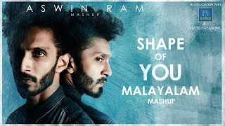 Download Ed-Sheeran - Shape Of You - Malayalam Mashup - Aswin Ram (15 songs in one go) Video