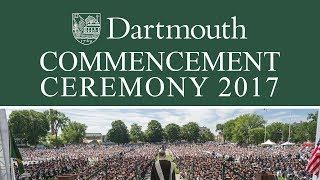 Download Dartmouth Commencement 2017 Video