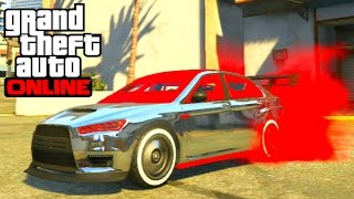 Download GTA 5 Online - Karin Kuruma (Armored) Full Customization Paint Job Guide Video