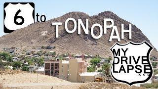 Download US 6 Westbound into Tonopah, Nevada: Dashcam Video