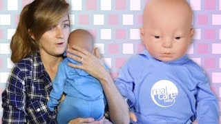 Download Engaged Couples Raise Robot Babies Video