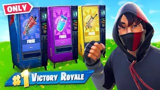 Download VENDING MACHINE *ONLY* Challenge in Fortnite Video