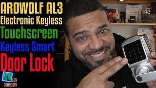 Download Ardwolf AL3 Touchscreen Keyless Smart Door Lock 🚪 🔐 : LGTV Review Video