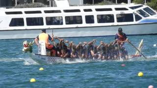 Download Dragon Boat Racing Adelaide 2016 - Philippine Coast Guard DBT - 20s 500m Mixed Grand Finals Video