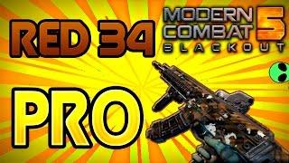 Download MC5 RED-34 PRO!! Modern Combat 5: Blackout GAMEPLAY Video