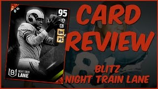 Download MUT 17 Card Review | Blitz Night Train Lane Gameplay + Card Review Video