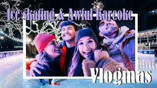 Download Ice Skating, Christmas Huts & Terrible Karaoke | VLOGMAS Video