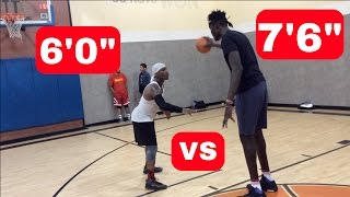 Download Bone Collector vs 7'6″ NBA Player! Video